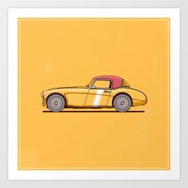 Austin Healey Art Print