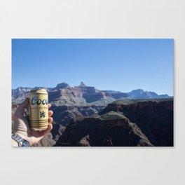 Canyon Cerveza Canvas Print