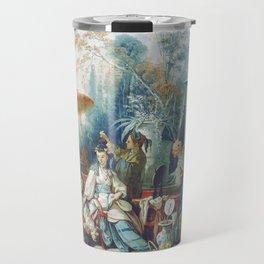 Le Jardin Chinois by François Boucher Travel Mug