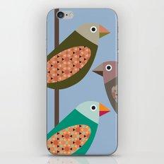 Fun Finches iPhone & iPod Skin