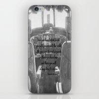 da vinci iPhone & iPod Skins featuring Flight Skyward Da Vinci by KimberosePhotography