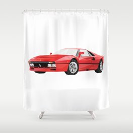 Ferrari 288 GTO Shower Curtain
