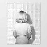 kim sy ok Canvas Prints featuring OK by Tanja Jeremić