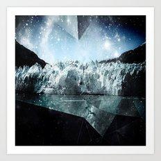 glacier bay Art Print