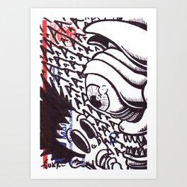 Surprise!!! Art Print