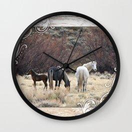 Family of Three Wall Clock