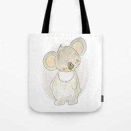 Animal Tales - Sweet Koala in Watercolor Tote Bag