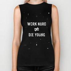 Work Hard, Die Young / Dark Biker Tank
