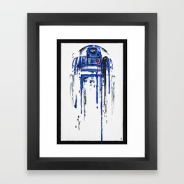 A blue hope 2 Framed Art Print