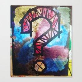 W3 Canvas Print