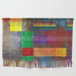 Mid-Century Modern Art - Rainbow Pride 2.0 Wall Hanging