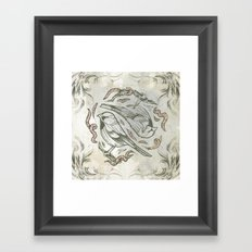 bird life 1 Framed Art Print
