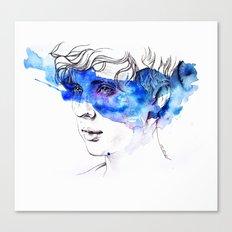 COLOUR ME BLUE | TROYE SIVAN ARTWORK Canvas Print