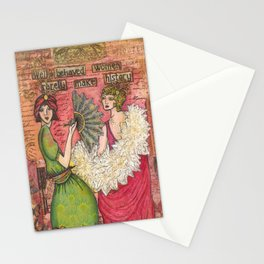 Well Behaved Women Rarely make History Stationery Cards