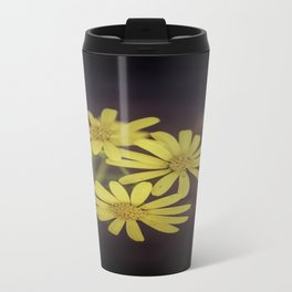 Yellow Wild Daisy  Travel Mug