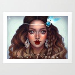 Sagittarius - The Star Sign Art Print