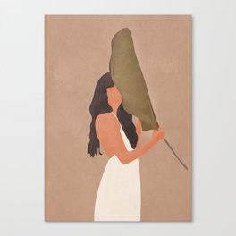 Shade of a Leaf Canvas Print