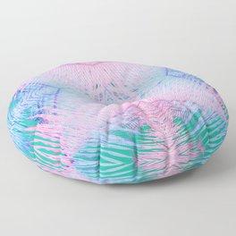 Tropical Palm Floor Pillow