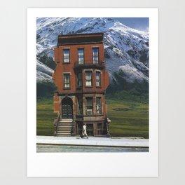 Lonely Summer Art Print