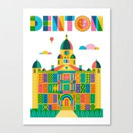 Denton Courthouse Canvas Print