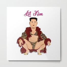 Lil Kim Metal Print