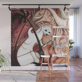 Ermine and Erhu Wall Mural