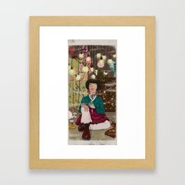 Cute Tough Framed Art Print
