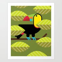 Toucan Poster Art Print