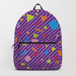Geometric Figure Creation 17 Backpack