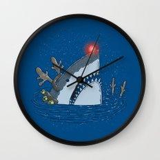 Rudolph Shark Wall Clock
