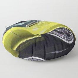 Lime Green Merc 1963 Floor Pillow
