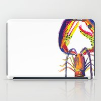 lobster iPad Cases featuring lobster by Urquhart