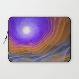 Whispering water and a blue moon Laptop Sleeve