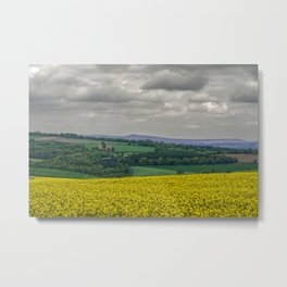 View to Wessenden Metal Print