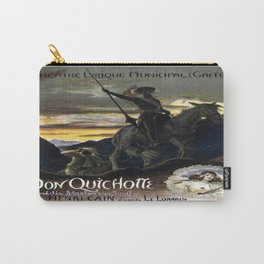 Vintage poster - Don Quichotte Carry-All Pouch