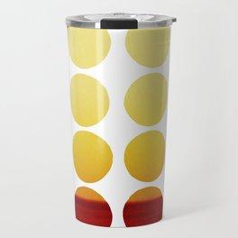 Warm dots Travel Mug