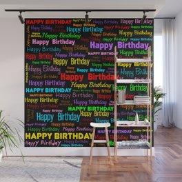 Happy Birthday! 2 Wall Mural
