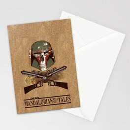 Dead Mandalorian Tell No Tales Stationery Cards