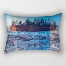 Slices of Light Rectangular Pillow