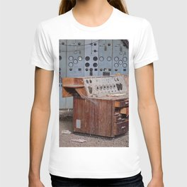 Derelict Control Room Desk T-shirt