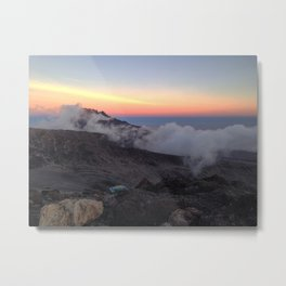 Kilimanjaro Sunset Metal Print
