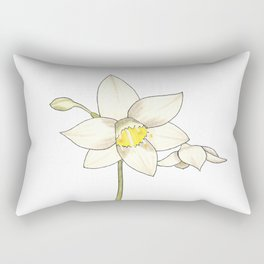 Eucharis Amazonica Rectangular Pillow