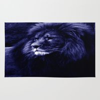 lion Area & Throw Rugs featuring Lion. by 2sweet4words Designs