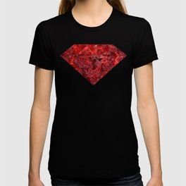 Marble Ruby Blood Red Agate T-shirt