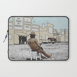 MY NAME IS NOBODY Laptop Sleeve