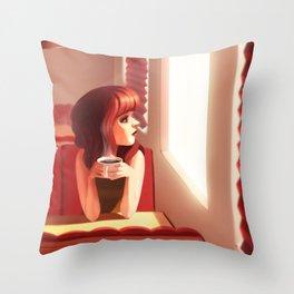 5pm Throw Pillow