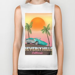 Beverly Hills California Biker Tank
