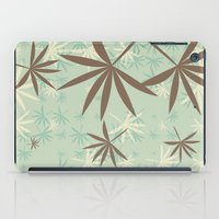 1d iPad Cases featuring Leaves 1D by Patterns of Life