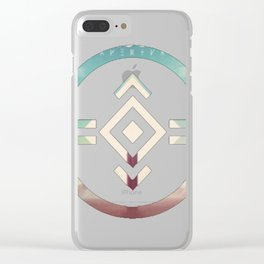 porter robinson & madeon shelter blu Clear iPhone Case