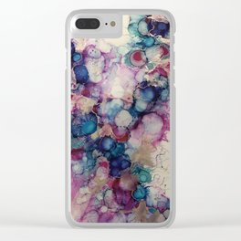 peaceful moments Clear iPhone Case